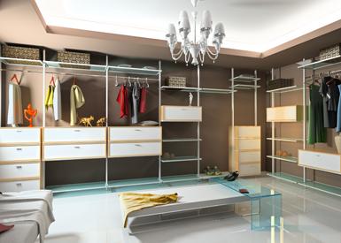 חדר ארונות בעיצוב אישי